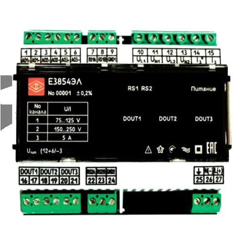 Преобразователь измерительный Е3854ЭЛ