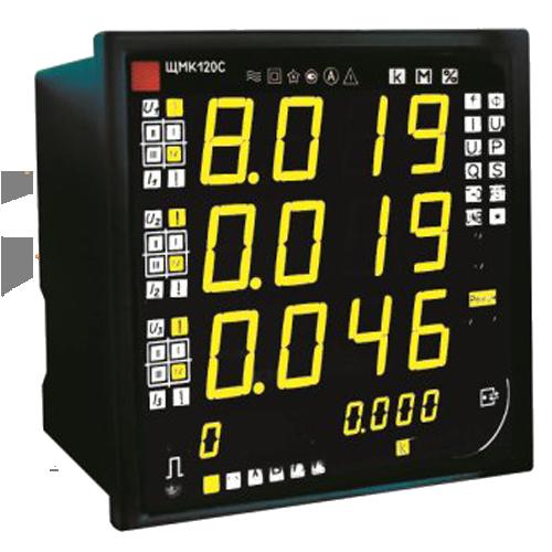 Прибор контроля качества электроэнергии ЩМК120