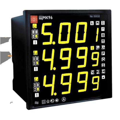 Прибор контроля качества электроэнергии ЩМК96