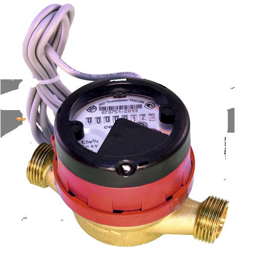 Счетчик горячей воды с импульсным выходом ВСГд-15