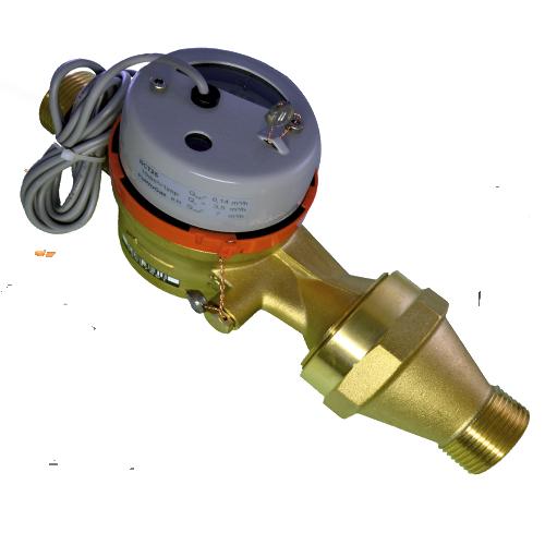 Счетчик горячей воды с импульсным выходом ВСТН-40