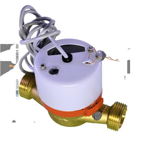 Счетчик горячей воды с импульсным выходом ВСТ-15