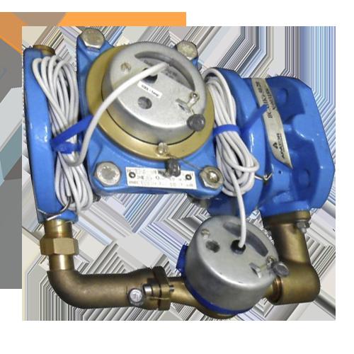 Комбинированный счетчик холодной воды с импульсным выходом ВСХНКд-150/40