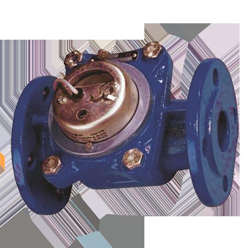 Фланцевый счетчик холодной воды с импульсным выходом ВСХНд-40