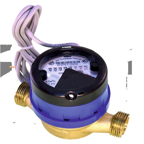 Счетчик холодной воды с импульсным выходом ВСХд-15