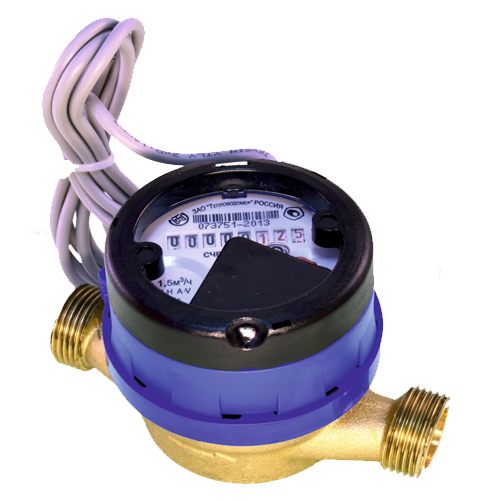 Счетчик холодной воды с импульсным выходом ВСХд-20
