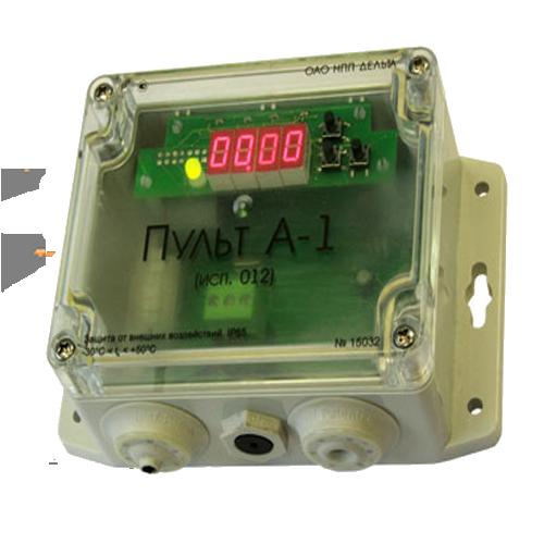 Пульт контроля концентрации газов А-1