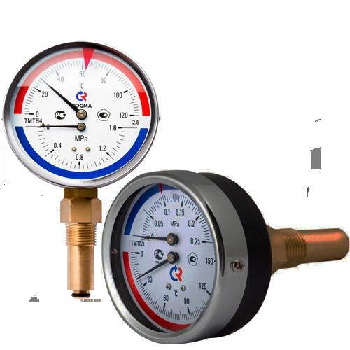 Термоманометр ТМТБ 4