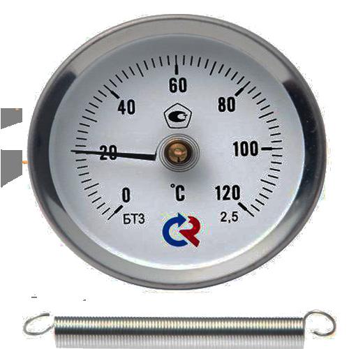 Термометр биметаллический БТ-30.010
