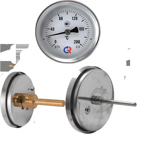 Термометр биметаллический БТ 31.211