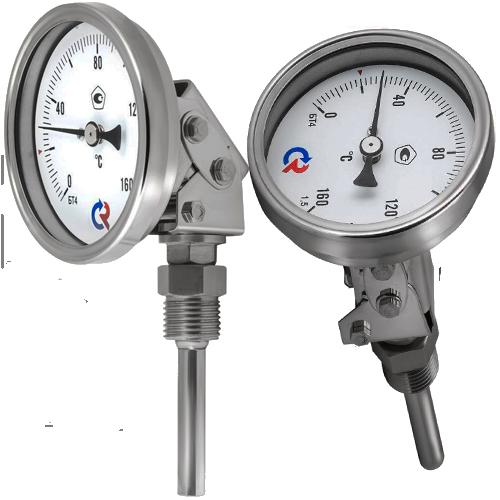 Термометр биметаллический БТ 44.220