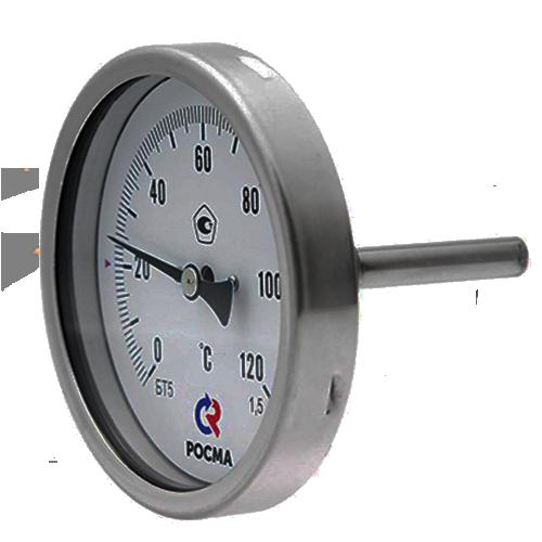 Термометр биметаллический БТ 51.220