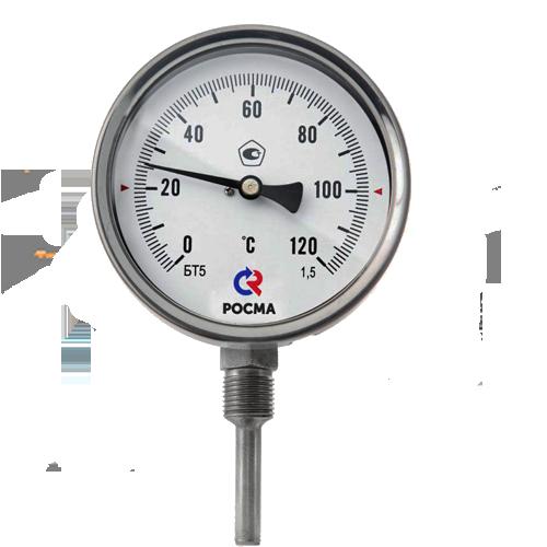 Термометр биметаллический БТ 72.220