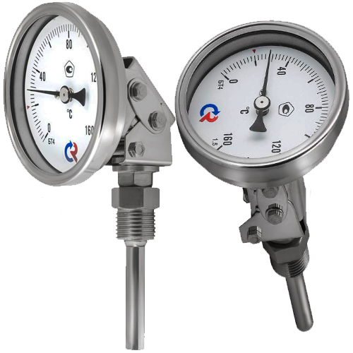 Термометр биметаллический БТ 74.220